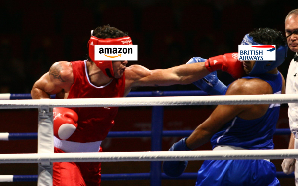 Amazon V BA boxing match picture